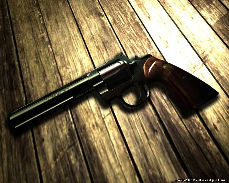 Desert Eagle модель для CS 1.6: Colt Python on Junkie_Bastard animati